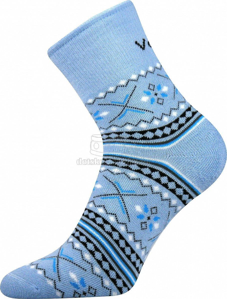 Detské ponožky VoXX Ingvild svetlo modrá