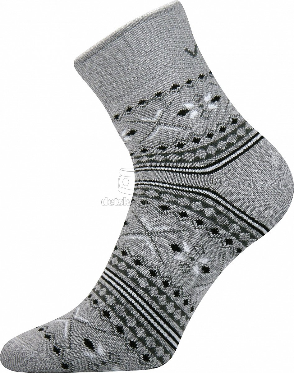 Detské ponožky VoXX Ingvild svetlo šedá