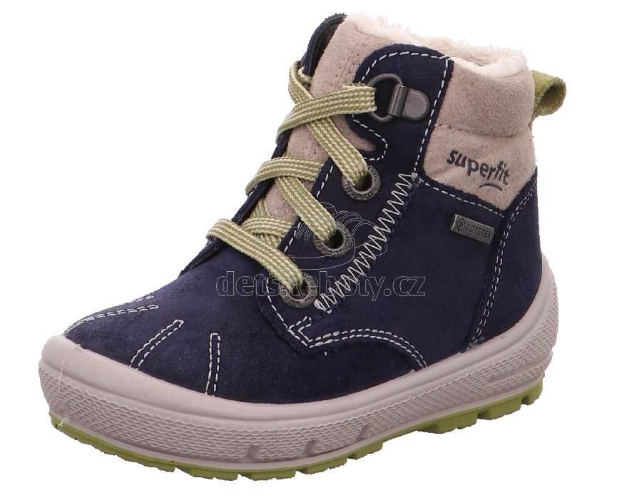 Téli gyerekcipő Superfit 1-006309-8000