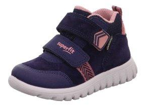 Detské celoročné topánky Superfit 1-009199-8010