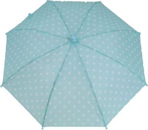 Dáždnik Dopller 72680D tyrkysové bodky