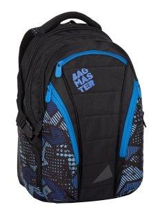 Batoh Bagmaster BAG 7 E BLACK/BLUE