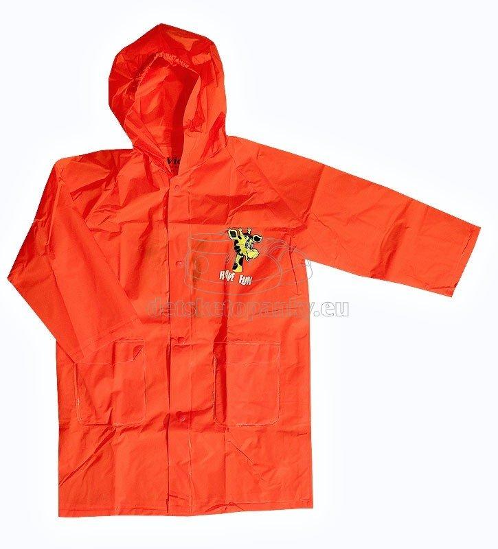 Detská pláštenka Viola 5501 červená