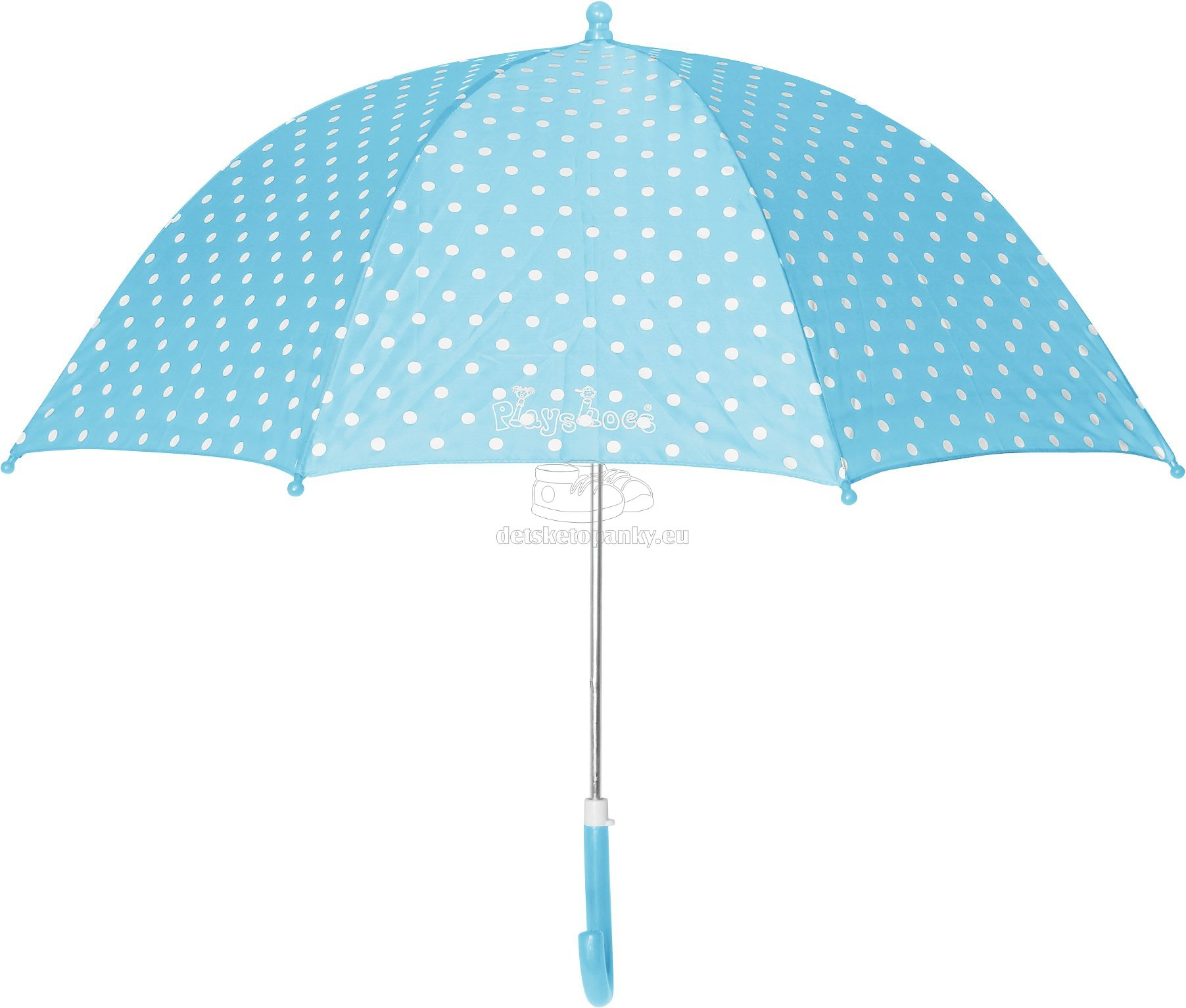Dáždnik Playshoes 441767 dots tyrkysový