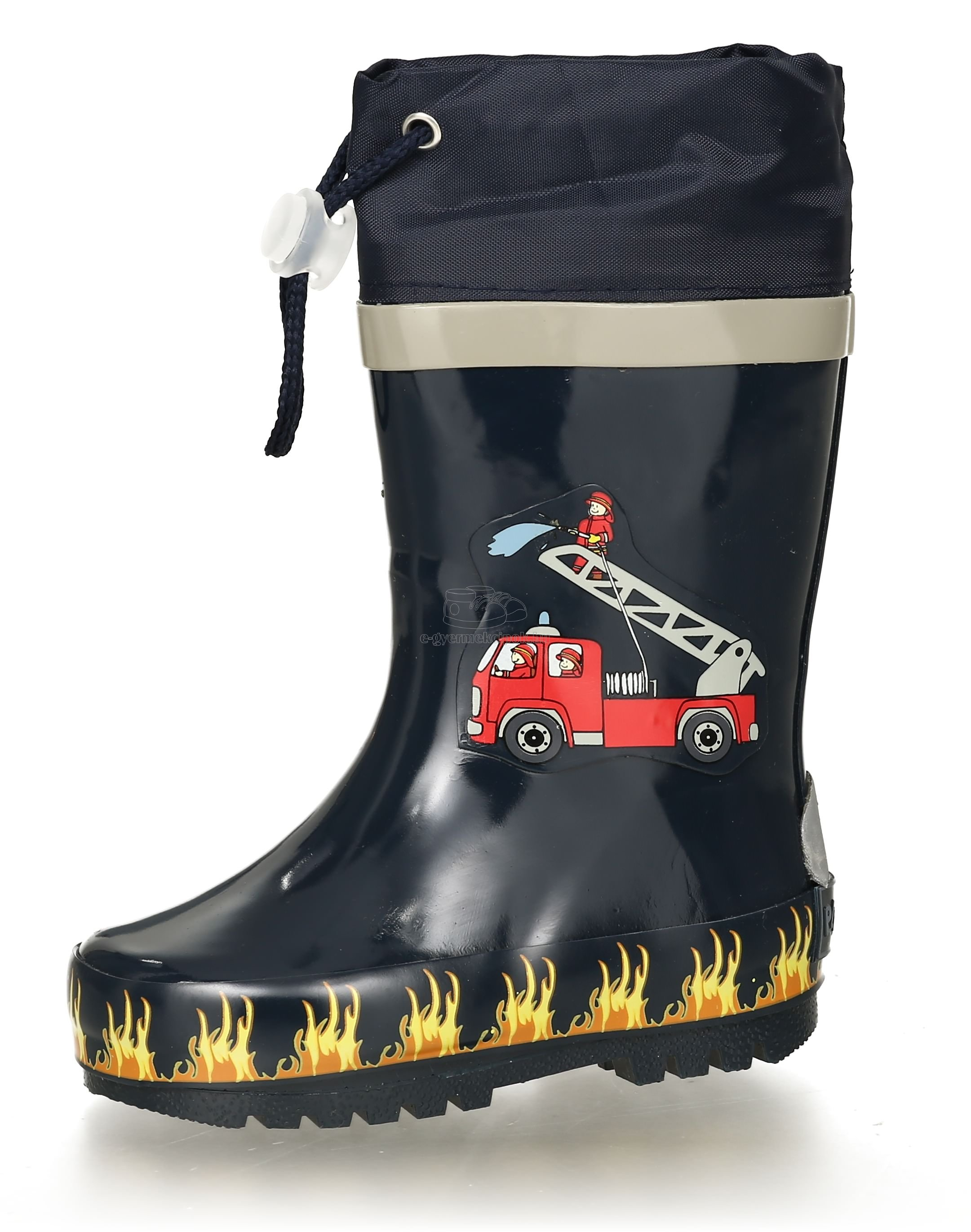 Gyerek gumicsizma Playshoes 188590 Fire Brigade