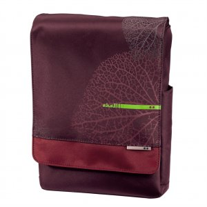"""Hama brašna na notebook AHA """"Vein"""",  26 cm (10.2""""), třešňová červená"""