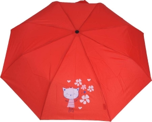 Deštník Doppler 722165 červené kočky