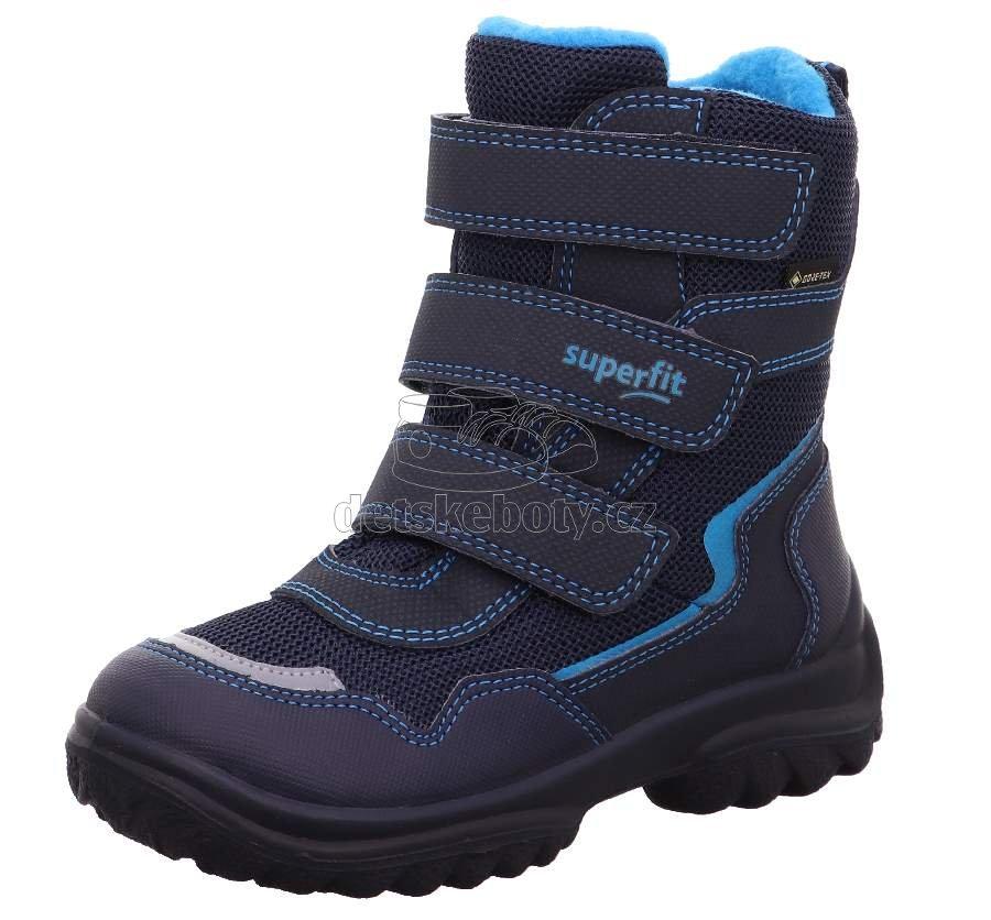 Detské zimné topánky Superfit 1-000025-8000