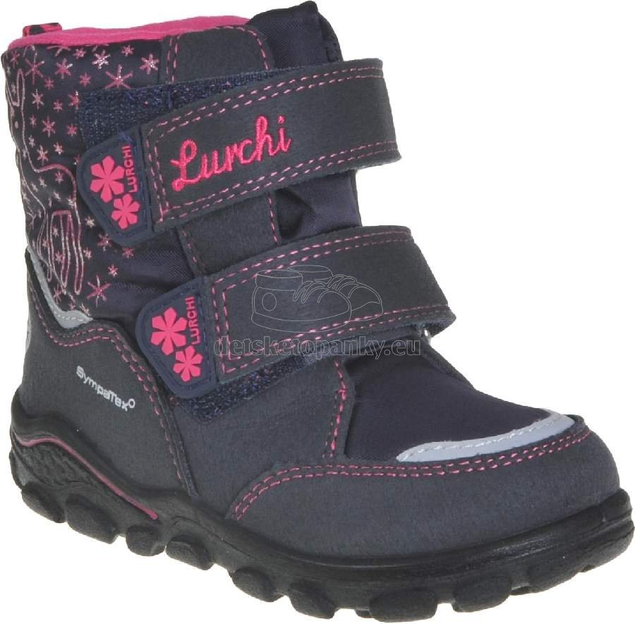 Detské zimné topánky Lurchi 33-33011-32