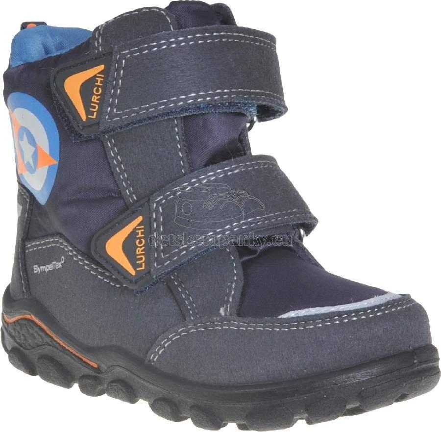 Detské zimné topánky Lurchi 33-33012-32