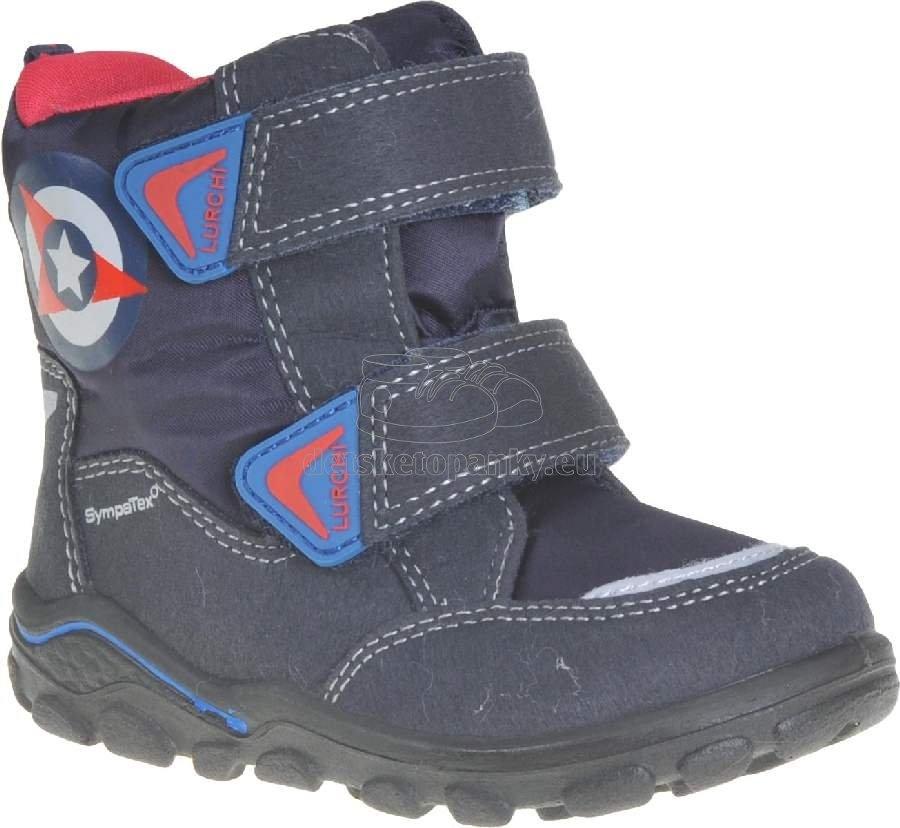 Detské zimné topánky Lurchi 33-33012-33