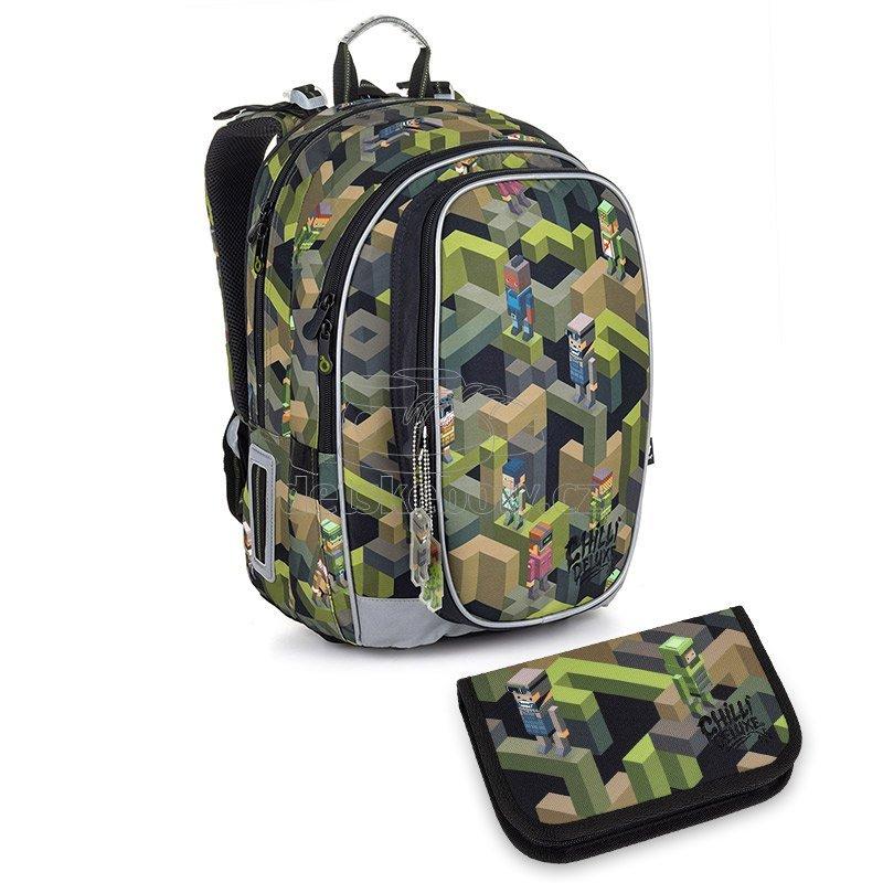 Školní batoh Topgal MIRA 20046 SET SMALL