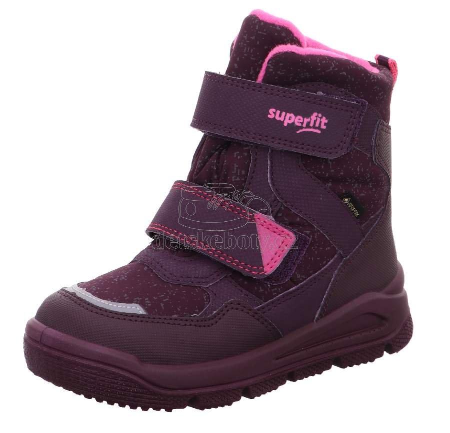 Téli gyerekcipő Superfit 1-009075-8500