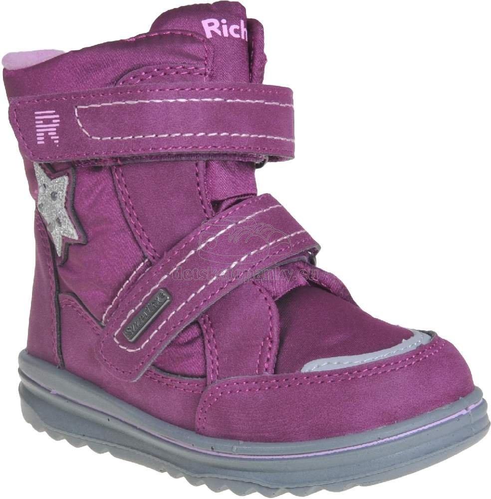 Detské zimné topánky Richter 2789-8171-7301
