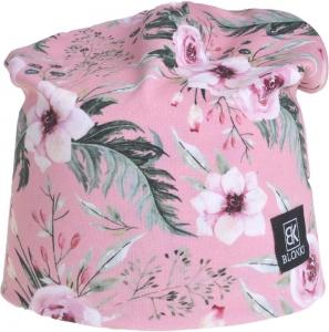 Detská jarná čiapka Blonki kvety č.4
