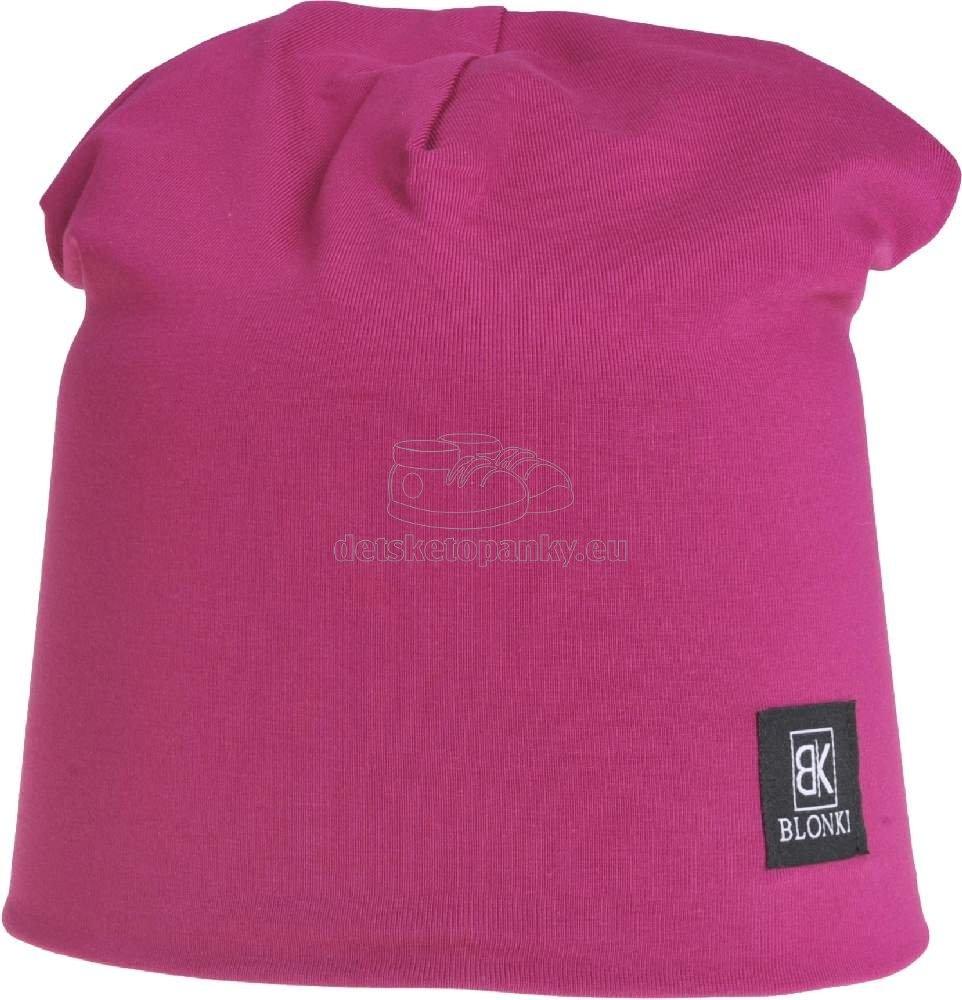 Detská jarná čiapka Blonki fialová č.15