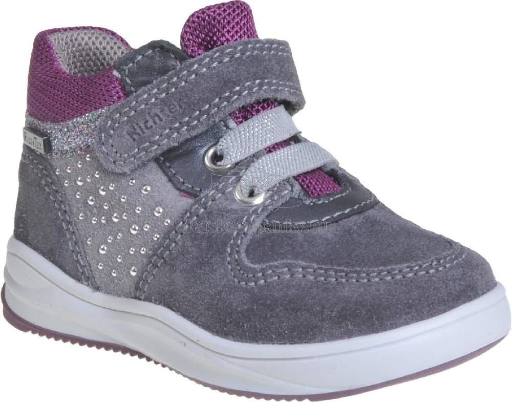 Detské celoročné topánky Richter 1356-8111-6401