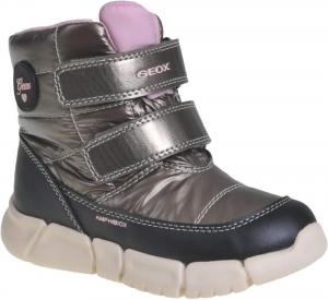 Detské zimné topánky Geox B043QB 0LUBC C1X9B