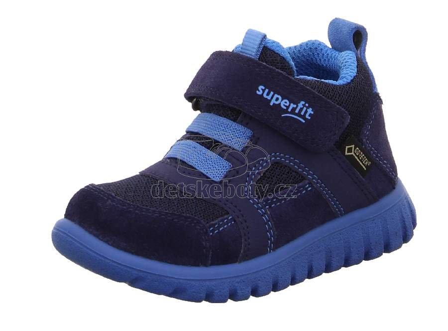 Egész évben hordható gyerekcipő Superfit 1-009198-8000