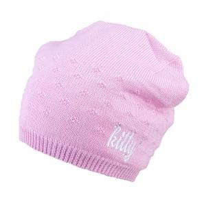 Téli gyerek sapka TUTU 3-005142 lt.pink