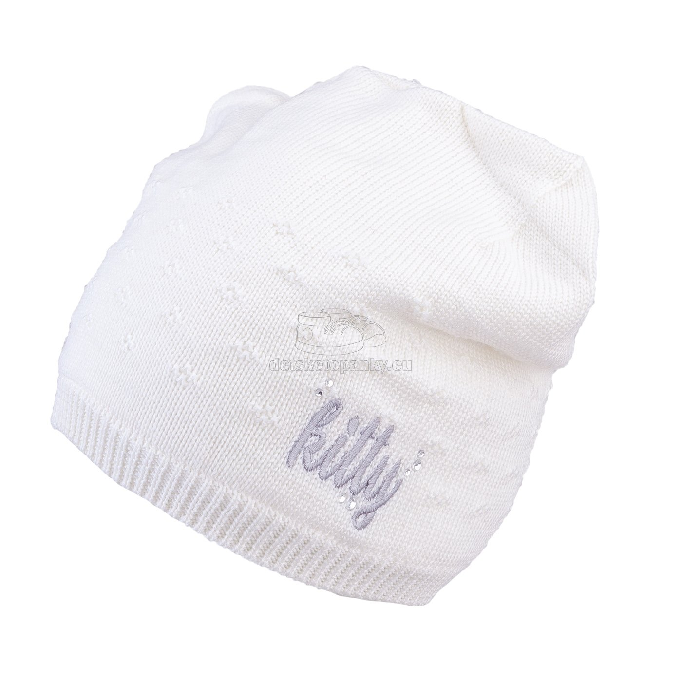 Detská zimná čapica TUTU 3-005142 white
