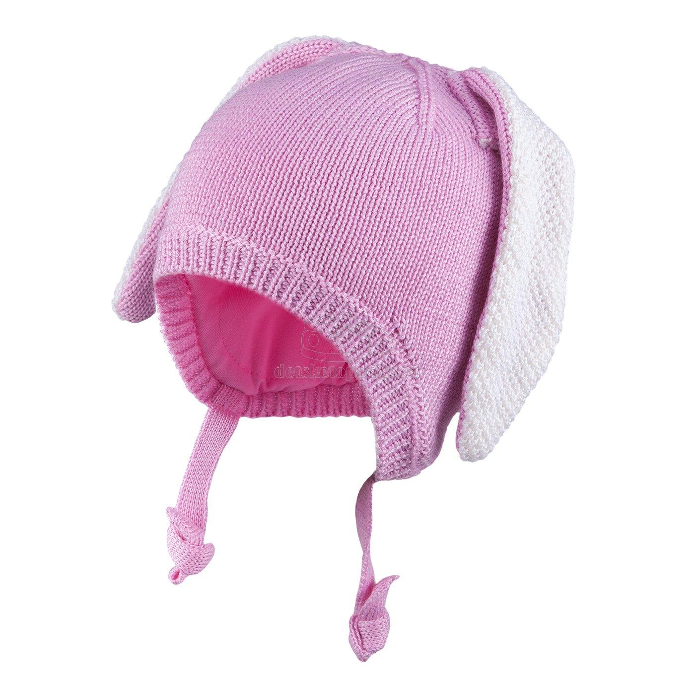 Detská zimná čapica TUTU 3-005123 lt.pink