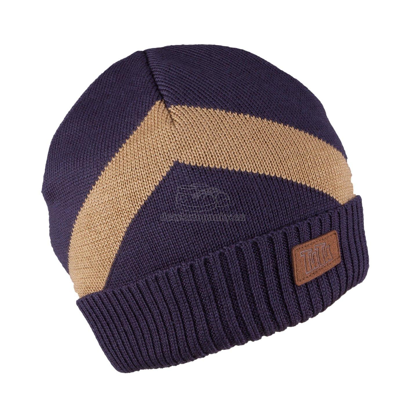 Detská zimná čapica TUTU 3-005193 n.blue