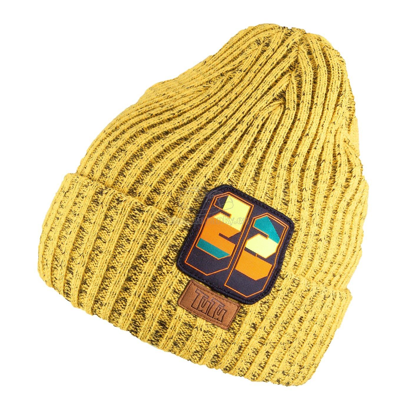 Detská zimná čapica TUTU 3-005210 yellow