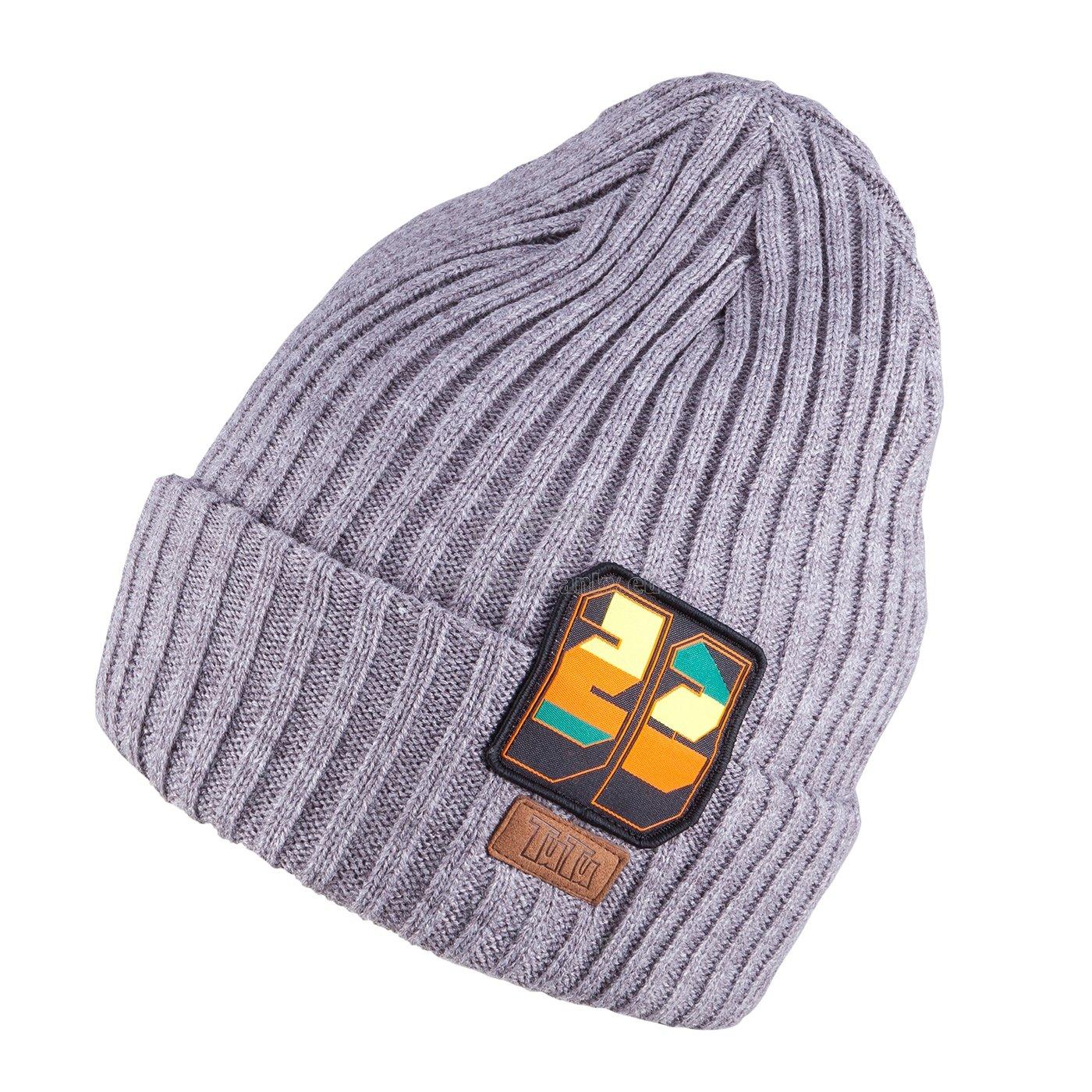 Detská zimná čapica TUTU 3-005210 grey