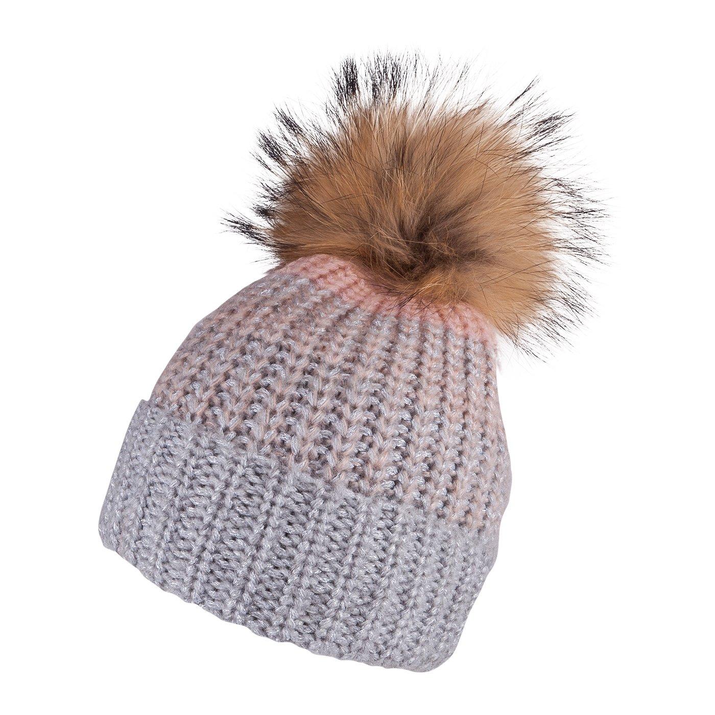 Detská zimná čapica TUTU 3-005207 grey