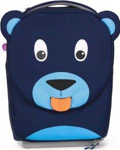 Gyerek utazós kuffer Affenzahn Trolley Bobo Bear - petrol