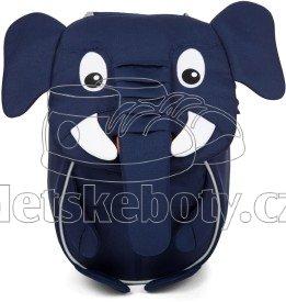 Batôžtek pre najmenších Affenzahn Emil Elephant small - Blue
