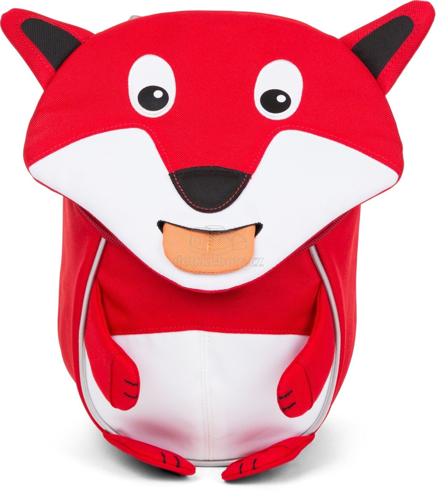 Batôžtek pre najmenších Affenzahn Frida Fox small - Red