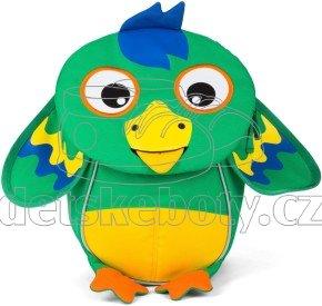 Batôžtek pre najmenších Affenzahn Piet Parrot small - green