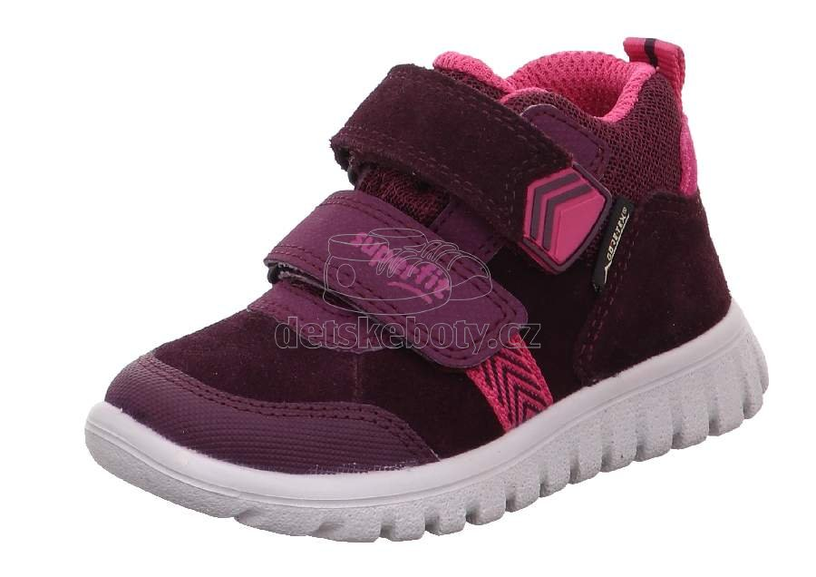 Detské celoročné topánky Superfit 1-009199-5000