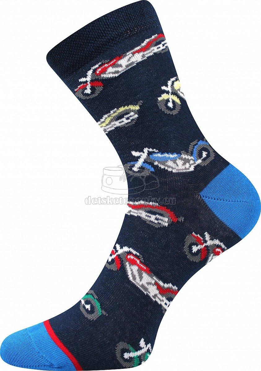 Detské ponožky Boma 057-21-43 motorky
