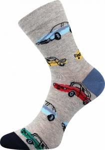 Detské ponožky Boma 057-21-43 autá