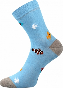 Detské ponožky Boma 057-21-43 ryby