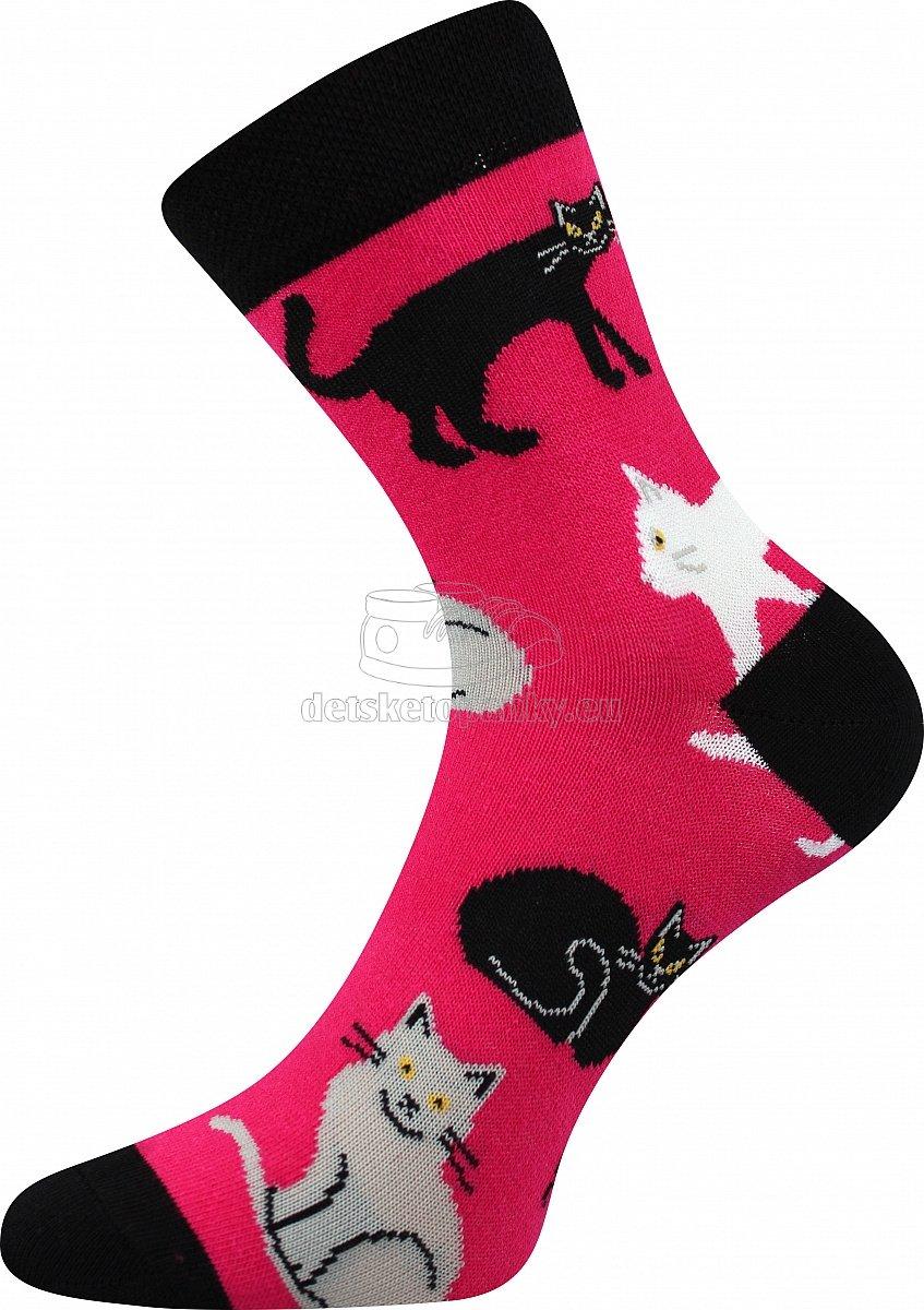 Detské ponožky Boma 057-21-43 mačky