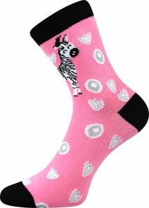 Detské ponožky Boma 057-21-43 zebra