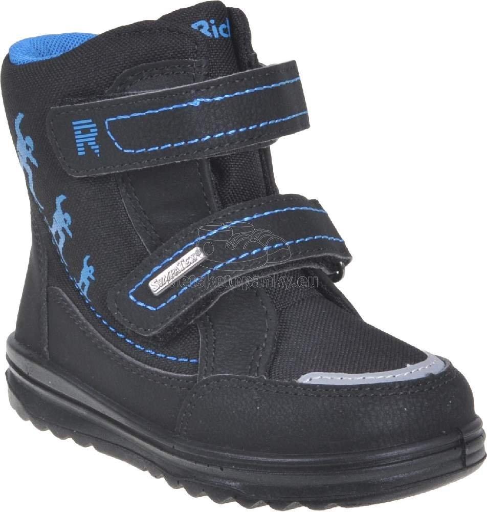 Detské zimné topánky Richter 2787-8173-9900