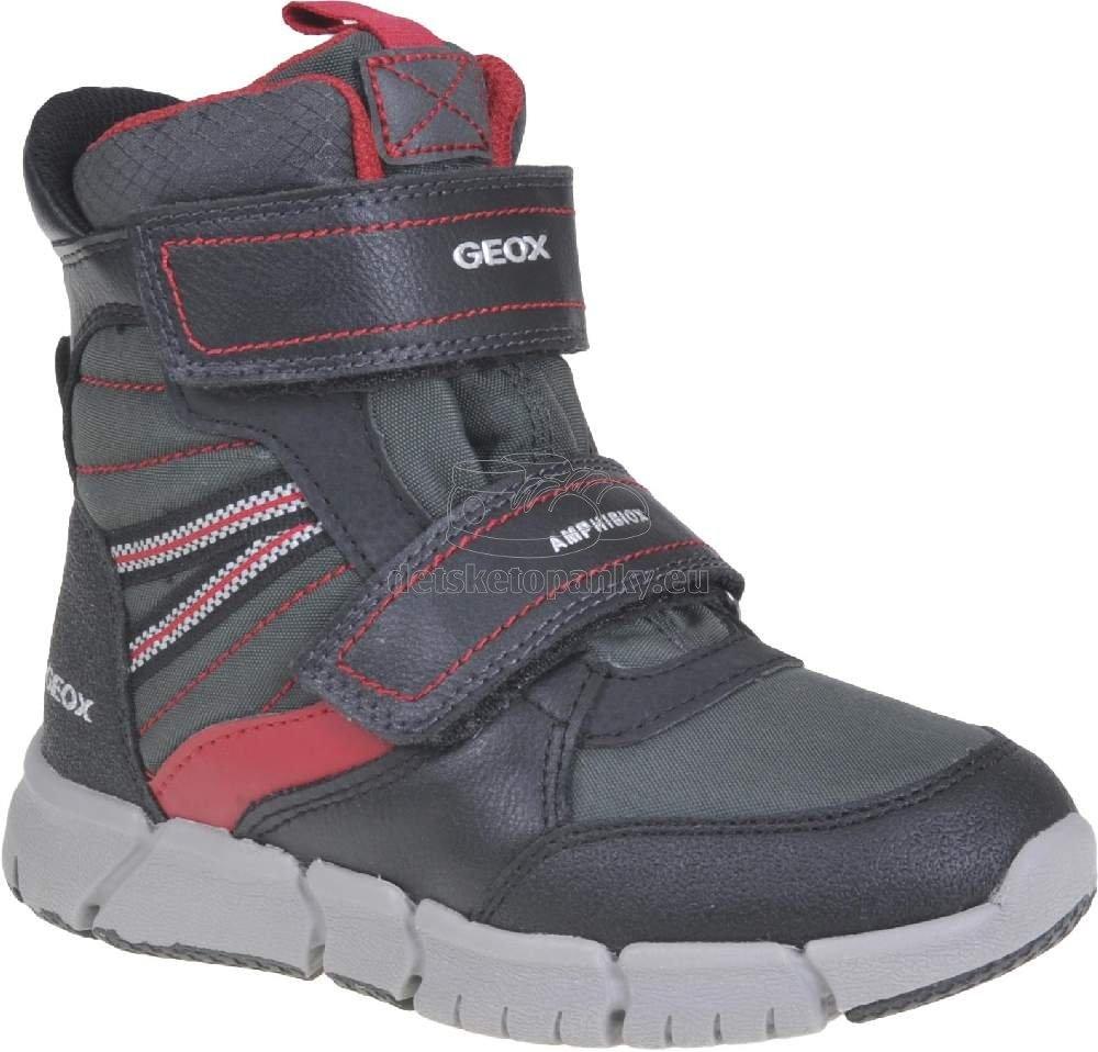 Detské zimné topánky Geox J049XA 0FUFE C0260