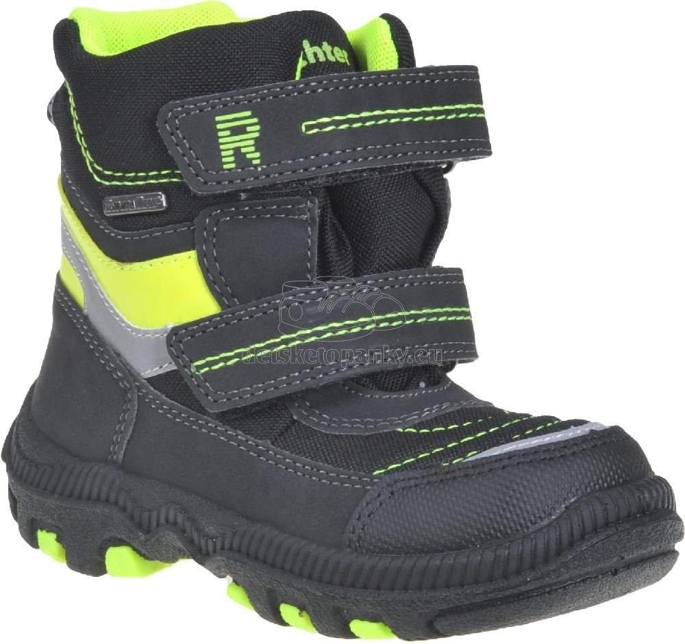 Detské zimné topánky Richter 8586-8171-9901