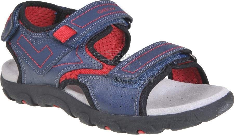 Nyári gyerek cipő Geox J0224A 0MECE C0735