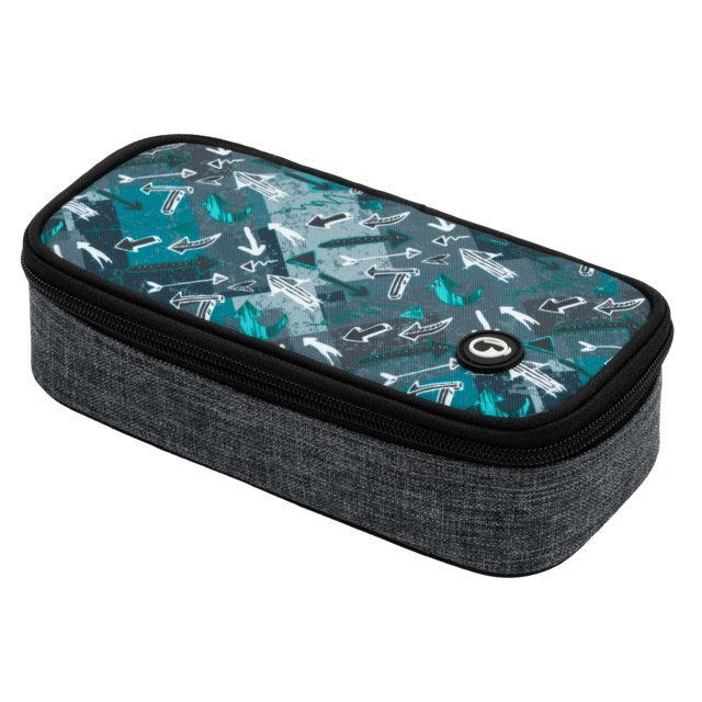 BAGMASTER CASE THEORY 20 B GRAY/TURQUOISE/BLACK