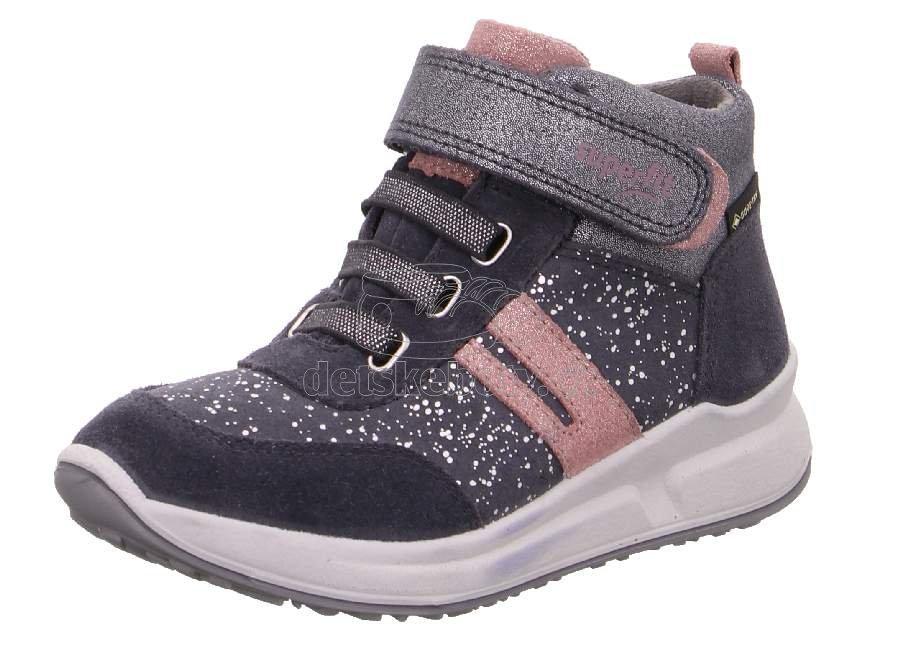 Detské celoročné topánky Superfit 1-009184-2000