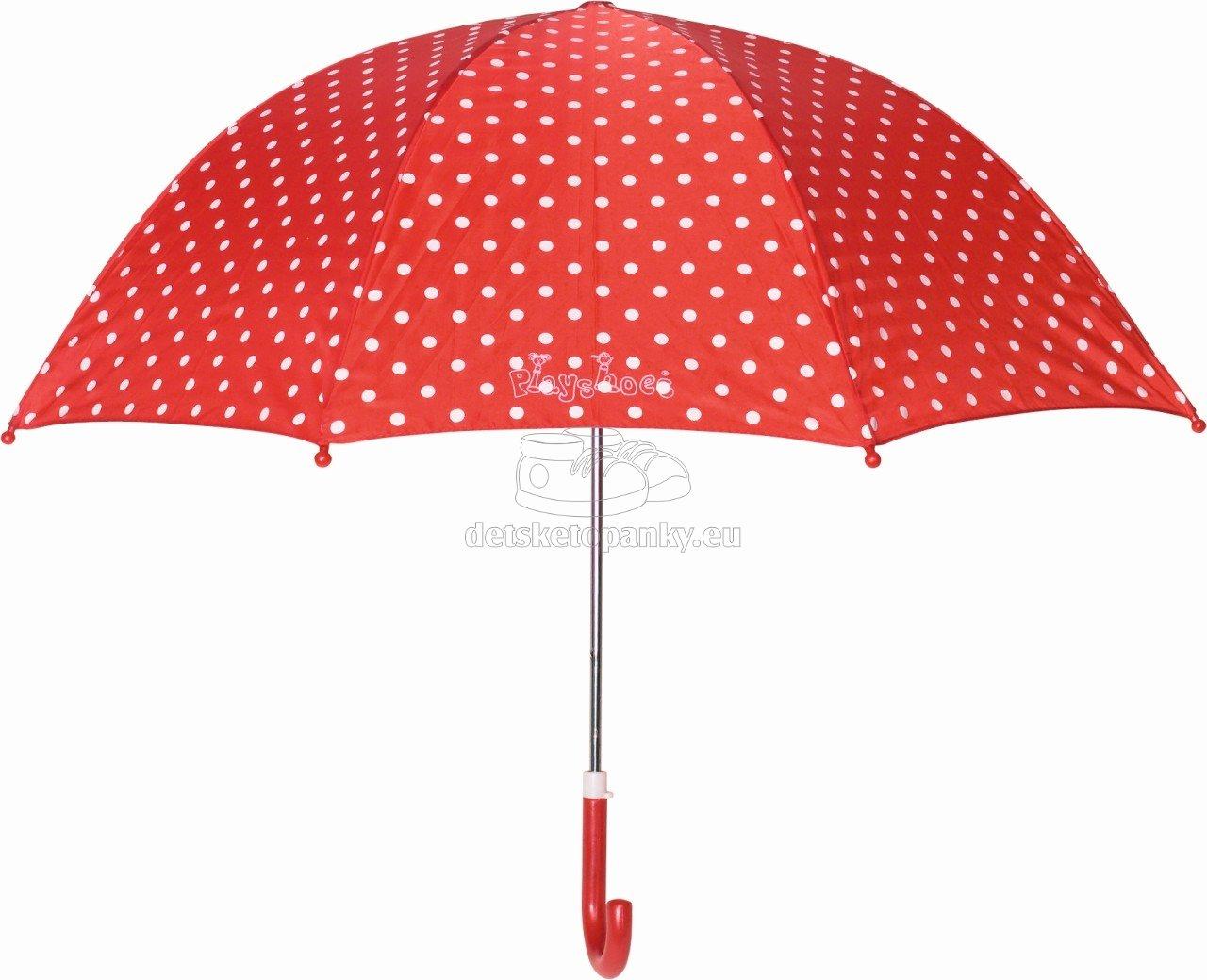 Dáždnik Playshoes 441767 dots červený