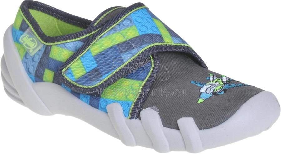 Detské topánky na doma Befado 273 X 286