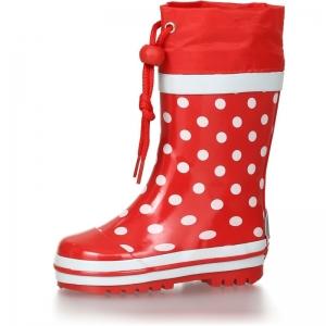 Detské gumáky Playshoes 181767 dots červená