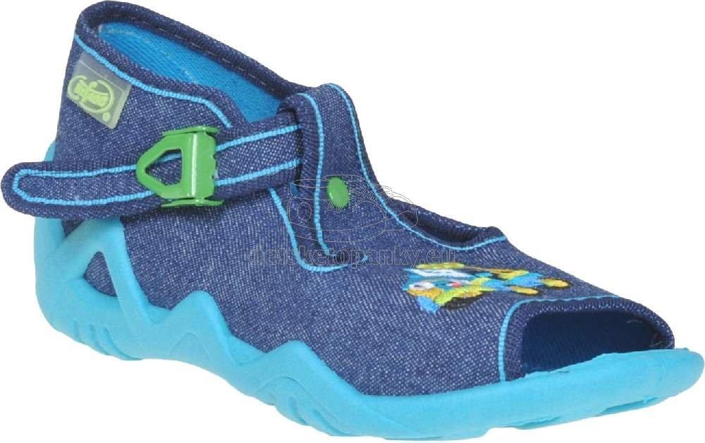 Detská domáca obuv Befado 217 P 107
